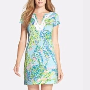 Lilly Pulitzer blue heaven Brewster dress